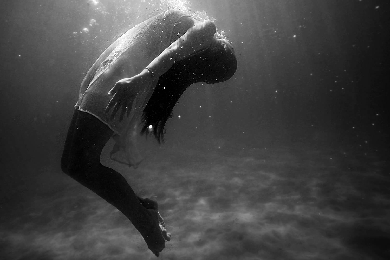 Do you sometimes feel like you are drowning?